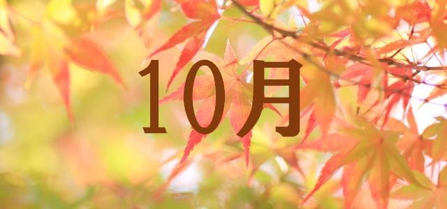 10月 紅葉